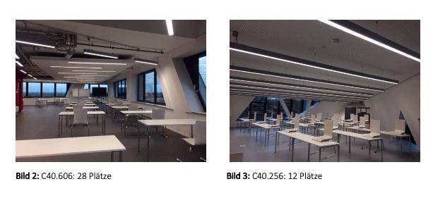 Rückkehr zur Präsenzlehre – Platz für 522 Studierende gleichzeitig