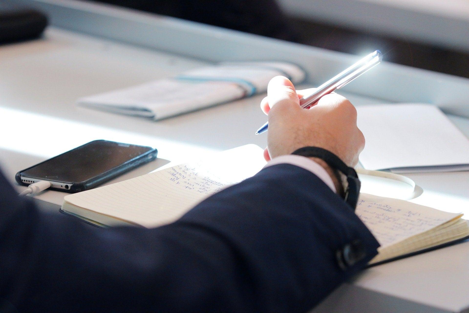 Konferenz Workshop Iphone Smartphone Schreiben - (c) Pixabay