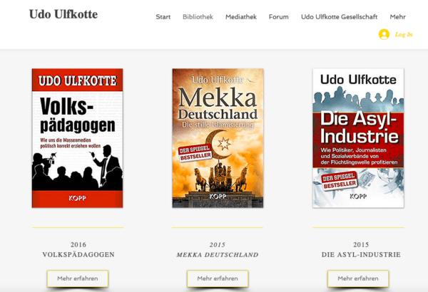 Website Udo Ulfkotte