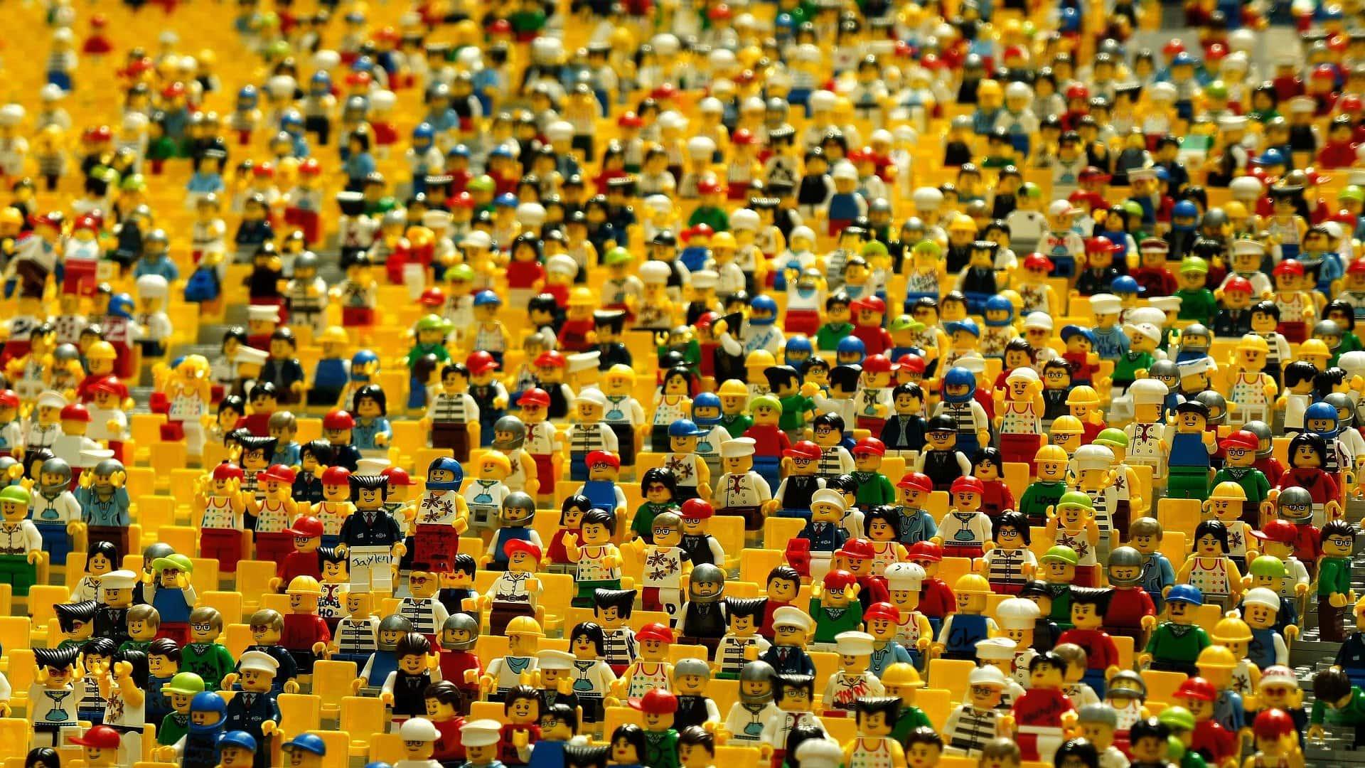 Lego Spielzeug Figuren Menge Viele Menschen - (c) Pixabay